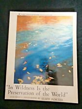 In Wildness is the Preservation of the World by Eliot Porter Henry David Thoreau