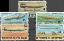 Timbres Dirigeables Cote d'Ivoire 434/8 o lot 28758