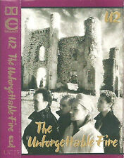 U2 THE UNFORGETTABLE FIRE CASSETTE ALBUM  ISLAND UC25 Rock Pop UK issue