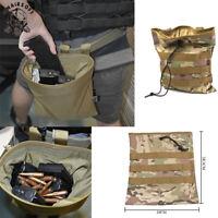 Molle Tactical Magazine DUMP Drop Pouch Utility Gun Ammo Bag Magazine Pouch