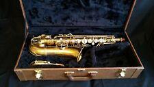 "Conn New Wonder II Alto Saxophone ""Chu Berry"" 1929 - Brass Lacquer"