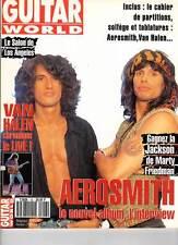 "GUITAR WORLD #43 ""Aerosmith,Van Halen,S.Henderson,Geffen,Kotzen"" (REVUE)"