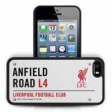 Official Liverpool Football Club Anfield Road Street Sign iPhone 5/5s Hard Case