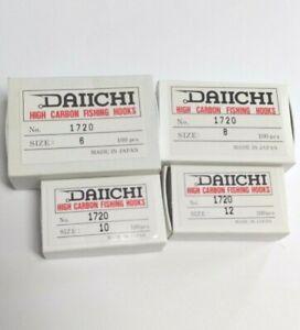 1720 DAIICHI 3X LONG HOOKS 100 PACK NYMPH FLY TYING HOOKS #6,#8,#10,#12