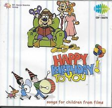 HAPPY BIRTHDAY TO YOU - SONGS FOR CHILDREN FROM FILMS - NEW SARE GAMA CD