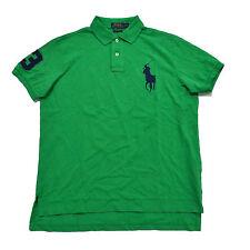 Polo Ralph Lauren Big Pony Mens Custom Fit Mesh Polo Shirt S M L Xl Xxl New Nwt