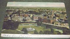 1907 Postcard View Of Hartford Connecticut From The Capitol Dome To Pawtucket