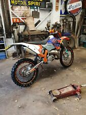 Ktm 200 exc registered as 125, learner legal.