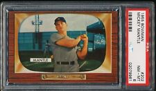MICKEY MANTLE 1955 BOWMAN YANKEES CARD #202 PSA 8  *CENTERED*