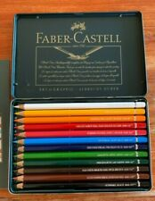 Faber-Castell 12 piece Watercolur pencils Albrecht Durer NEW tin case, vintage