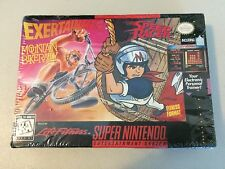 SNES Exertainment Mountain Bike Rally Speed Racer RARE Super Nintendo HOLY GRAIL