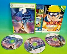 Blue Dragon - XBOX 360 game -  Rare All 3 discs!
