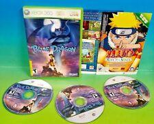 Blue Dragon - XBOX 360 game -  Rare All 3 discs!