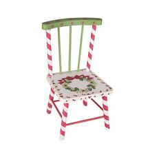 """12.4"""" Wood Doll Chair Joe Spencer Christmas Gathered Traditions New"""