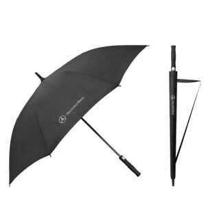 Genuine Mercedes-Benz Golf Windproof Black Automatic Umbrella With Cover Gift