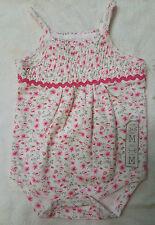 RENE ROFE BABY GIRL BODYSUIT FLOWER 3-6M 100%COTTON