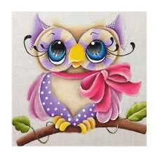 5D Diamond Owl Embroidery Painting Rhinestone Cross Stitch Craft 30*30cm K1B