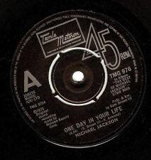 MICHAEL JACKSON One Day In Your Life Vinyl 7 Inch Tamla Motown TMG 976 1981