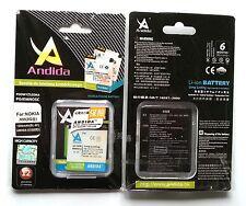 Batteria maggiorata originale ANDIDA compatibile Nokia BL-6F da 1500mAh