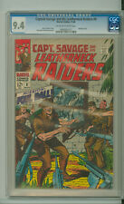 CAPTAIN SAVAGE AND HIS LEATHERNECK RAIDERS 8 CGC 9.4 Silver Age MARVEL 1969