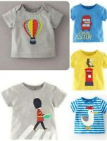 Boys T-Shirts Fun Applique Ex Baby Boden Age 3-24 Months 2-3 Years RRP £16