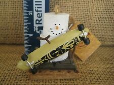 Original Smores Skateboarder Christmas Tree Ornament by Cannon Falls