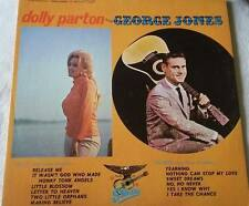 DOLLY PARTON & GEORGE JONES 1970 Starday Early Hits Compilation Vintage LP Good