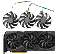 Fan For ASUS ROG STRIX GeForce RTX 2080 2080Ti GAMING RTX2080 RTX2080Ti T129215S