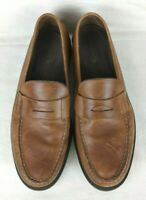 Rocsports by Rockport Men's Shoes Size 12M Leather Penny Loafers Slip On Brown