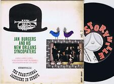 JAN BURGERS AND HIS NEW ORLEANS SYNCOPATERS Danish EP 45PS 1962 Storyville