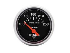 "Auto Meter Sport-Comp Electrical Transmission Temperature Gauge 2-1/16"" (52mm)"