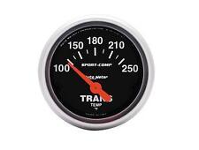 "Auto Meter Sport-Comp Electrical Transmission Temperature Gauge 2-1/16"" (52mm)"