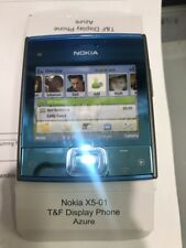 **High Quality** Dummy NOKIA X5-01 Display toy model Azure blue