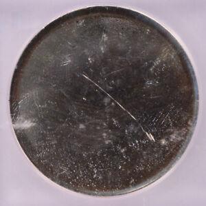 ICG $1 Silver Dollar Size Planchet MS60