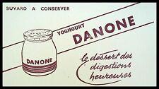 Buvard Publicitaire, DANONE - Le dessert des digestions heureuses