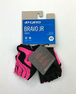 Giro Bravo JR Youth XS Cycling Gloves Pink New