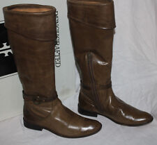 FRYE SHIRLEY CUFFED RIDING BOOT FAWN #7us 498