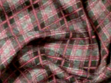 """Red & Gray Argyle Double Knit Fabric - 70"""" wide - sold by the yard"""