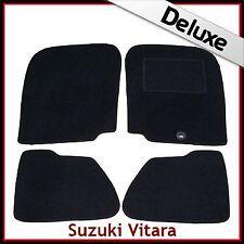 SUZUKI GRAND VITARA 5 PORTE Mk1 1998-2005 SU MISURA tappetini lusso 1300g Nero