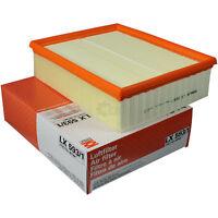 Original MAHLE / KNECHT Luftfilter Filter LX 593/1 Air Audi Allroad 4BH C5 A6