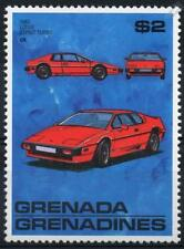 1983 LOTUS ESPRIT TURBO COUPE Automobile Car MNH Stamp (1988 Grenada)