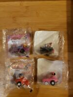 4 Vintage 1988 McDonald's Mickey's Birthdayland Happy Meal Toys
