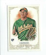 2012 Topps Allen and Ginter #79 Yoenis Cespedes RC Rookie A's
