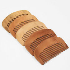 2X Natural Peach Wood Comb Clos Teeth Anti-static Head Massage hair care WoodenQ