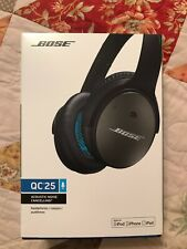 Bose QC25 Quiet Comfort 25 Acoustic Noise Cancelling Headphones - Mint Condition