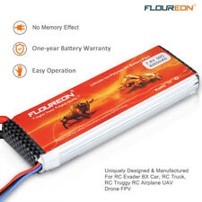 Floureon 2S1P 7.4V 4000mAh 30C with Deans Plug LiPo Battery for RC Truck Truggy