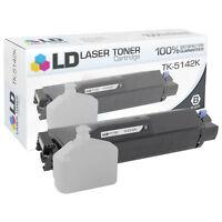 LD Compatible Kyocera-Mita TK-5142K / 1T02NR0US0 Black Toner Cartridge