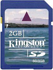 Kingston 2GB SD Card Secure Digital Memory Card. Trusted Brand