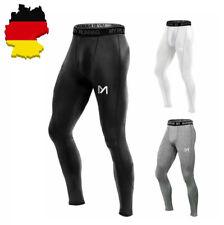 Herren Sport Leggings Kompressions Hose Laufhose Tight Strumpfhosen Sporthosen
