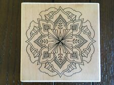 Medallion Wooden Rubber Stamp. Creative Expressions Hh1138H.